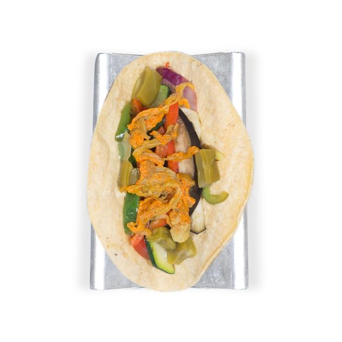 Taco vegano