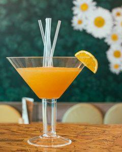 En cherry pecas bebidas Margarita
