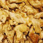 Pollo con salsa barbacoa